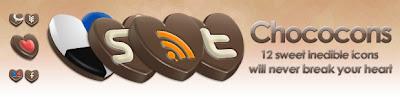 Chococons social media icons 75 Beautiful Free Social Bookmarking Icon Sets