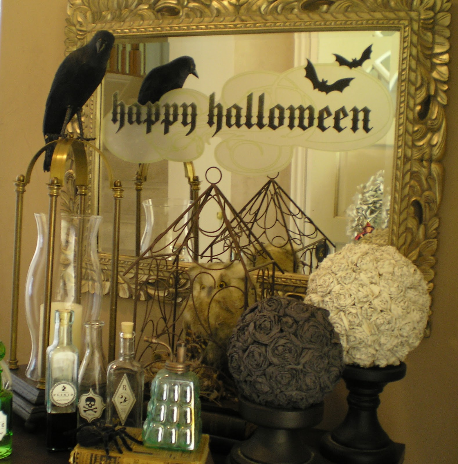 Home Decorating Ideas For Halloween: Honey I'm Home: Only 21 Days 'Til Halloween