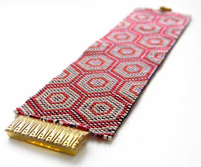 бисер браслет украшение делика Anabel