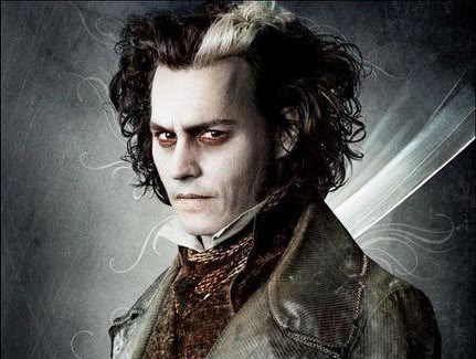 Kynuado Sweeney Todd Johnny Depp Wallpaper