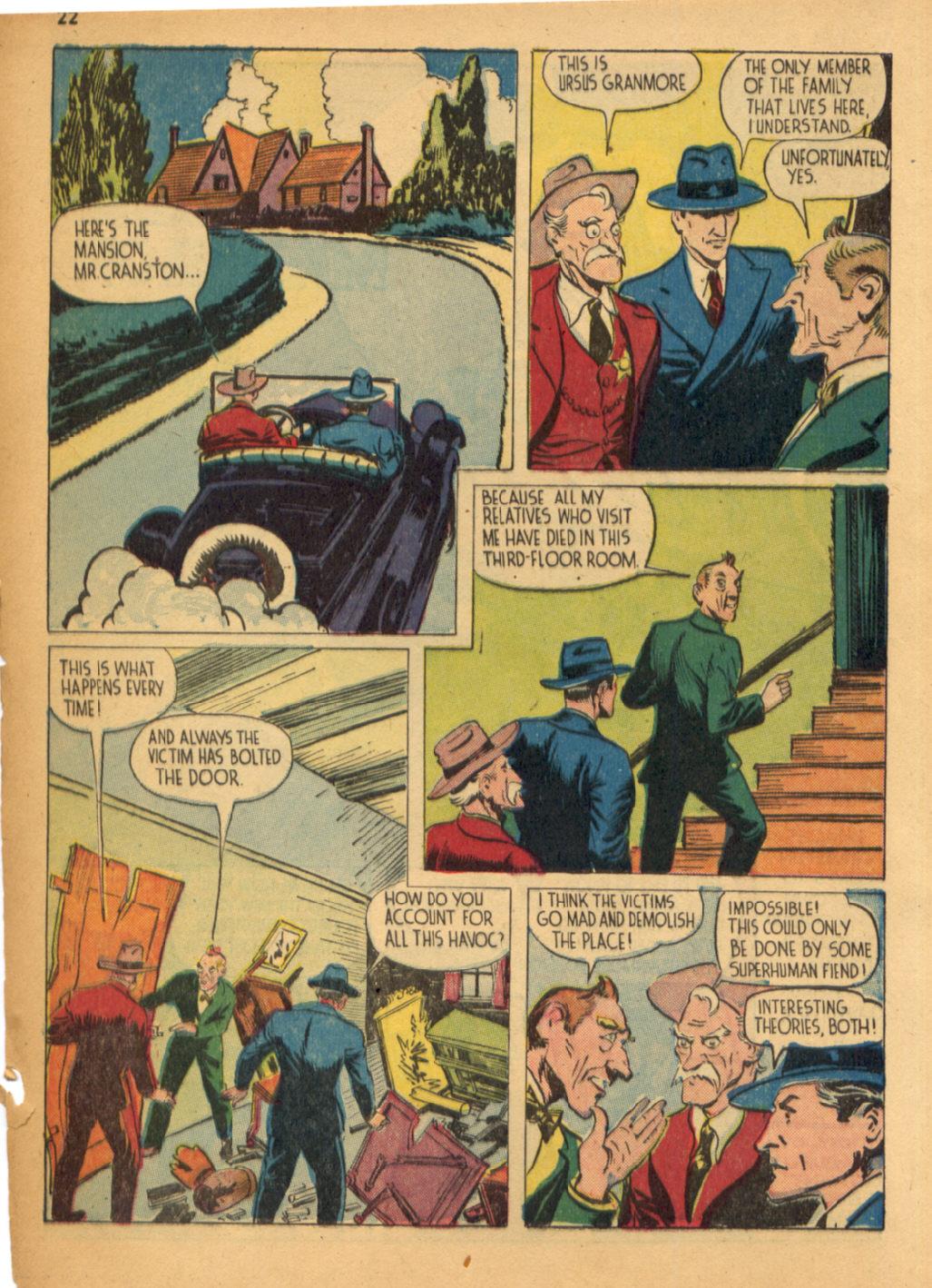 Read online Shadow Comics comic -  Issue #32 - 23