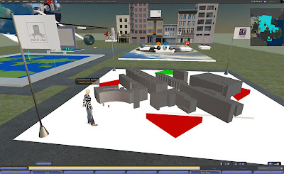 Virtual London in Second Life – Rezzing a City of 3 3