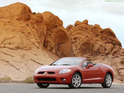 Mitsubishi Eclipse Spyder Standard Resolution Wallpaper 3