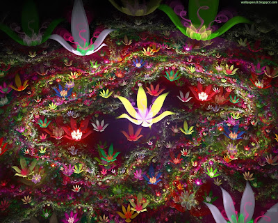 3D Flowers Standard Resolution Wallpaper 6