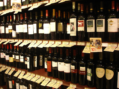 Wine Heaven at the Suburban Grocery Store – Umami Mart
