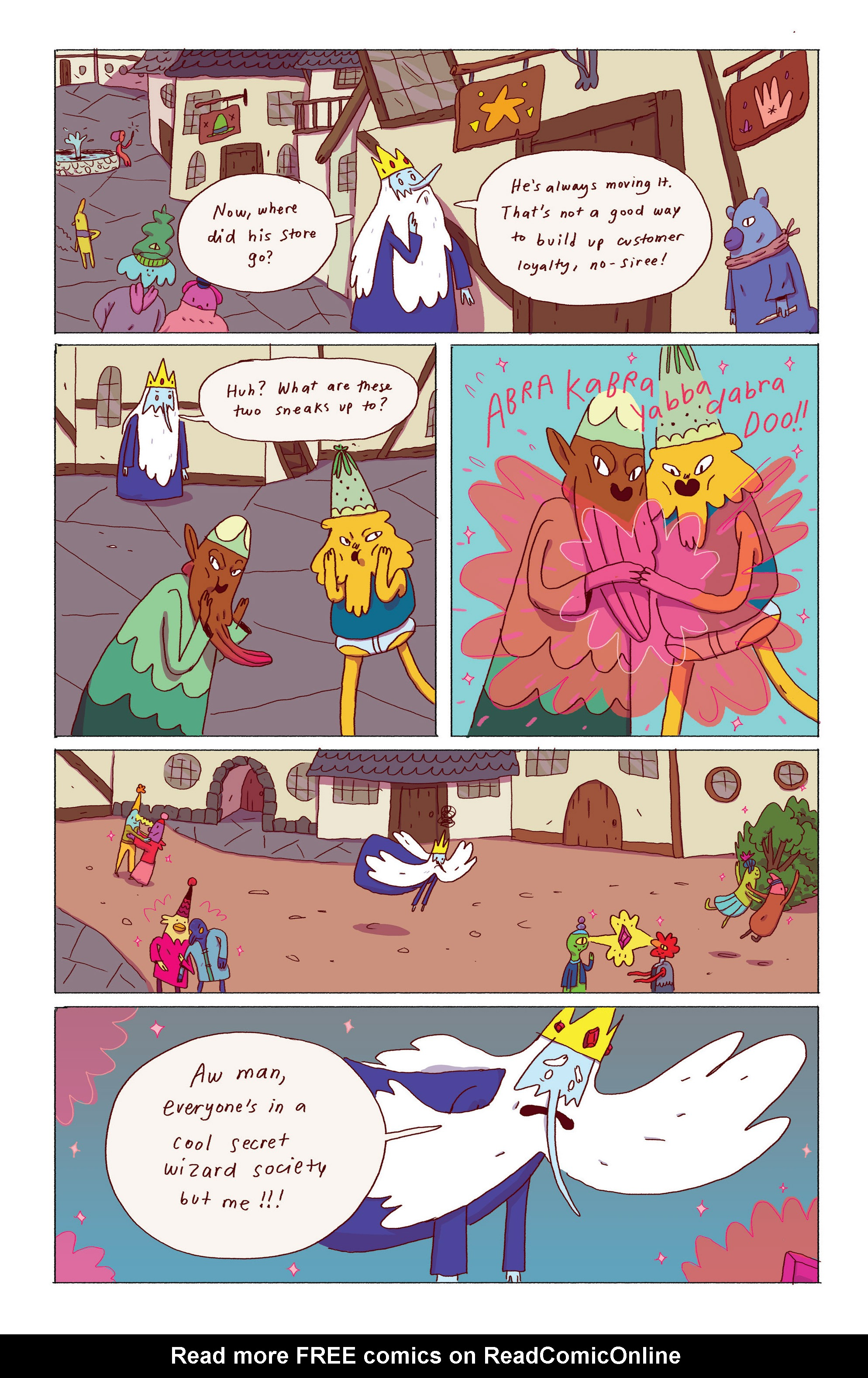 Read online Adventure Time: Ice King comic -  Issue #1 - 17