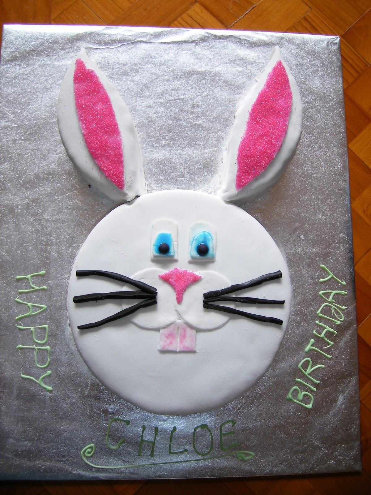 Gemma S Cakes Rabbit Cake