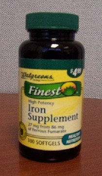 Iron suppliments
