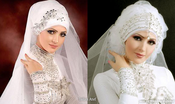 Between You And Me.....: Muslim Women's Bridal Gown And