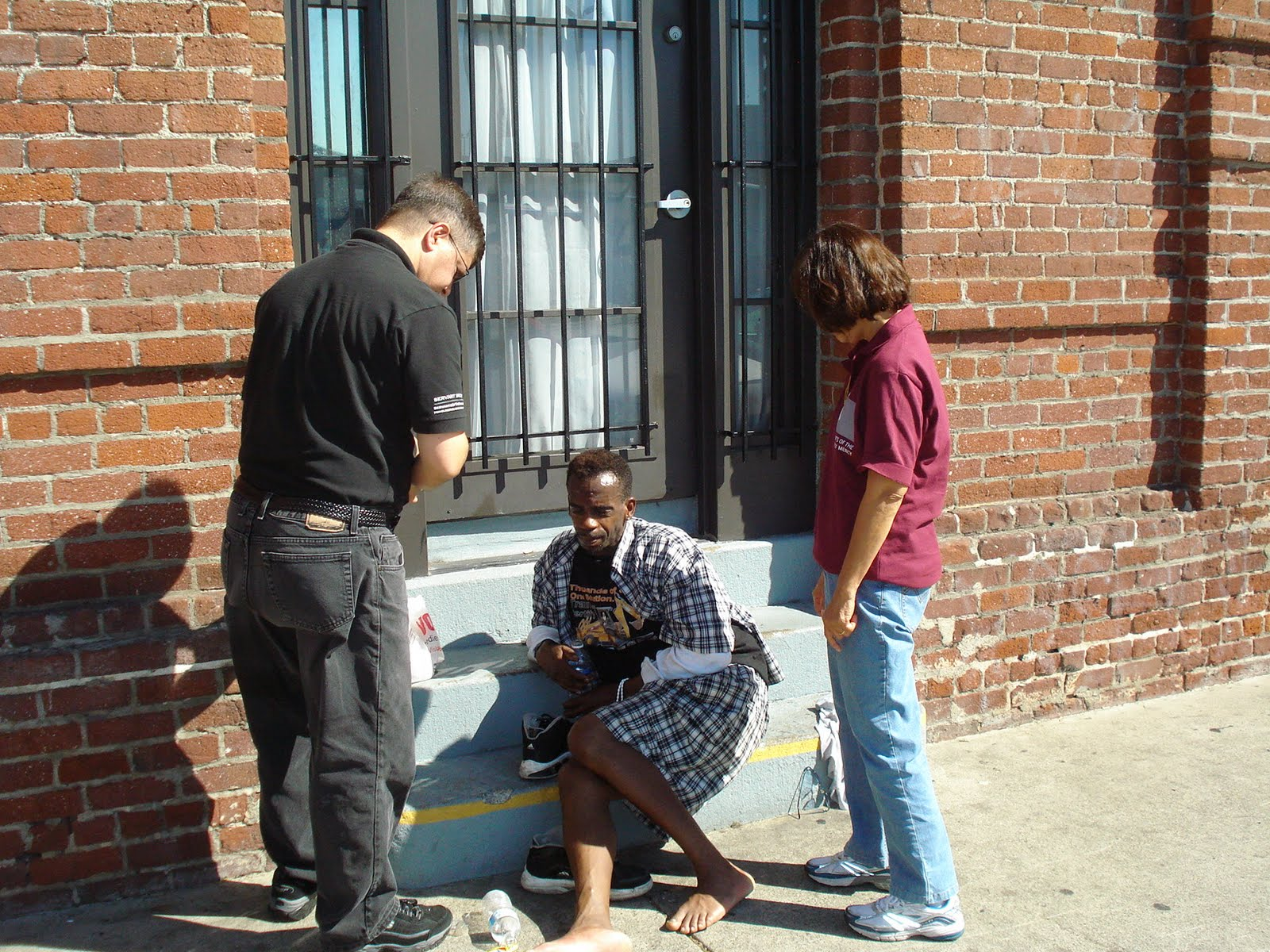 Homeless in America: A Day with the Homeless in Pictures