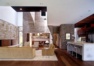 In The Living Room Or Family Room Is Designed Combining Modern And