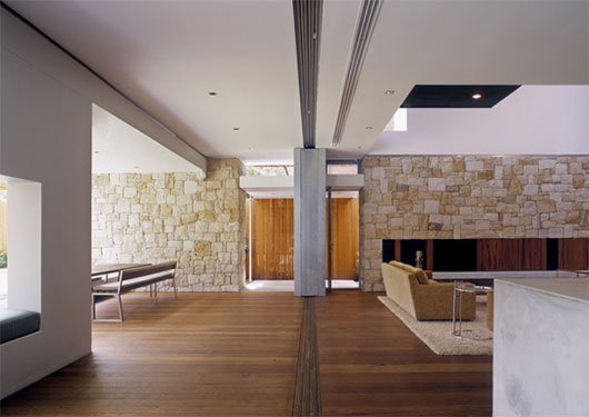 Combination Of Traditional And Modern Interior Design Home