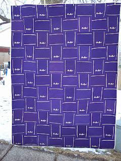 Annsarts Crown Royal Bag Quilt