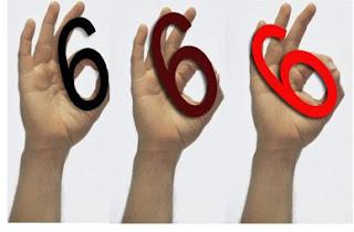 """Ok, sinal de mão ocultista ''666"""""""