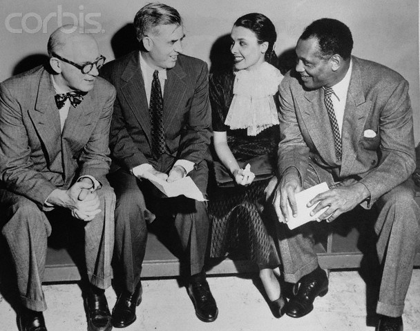 Paul robeson and lena horne
