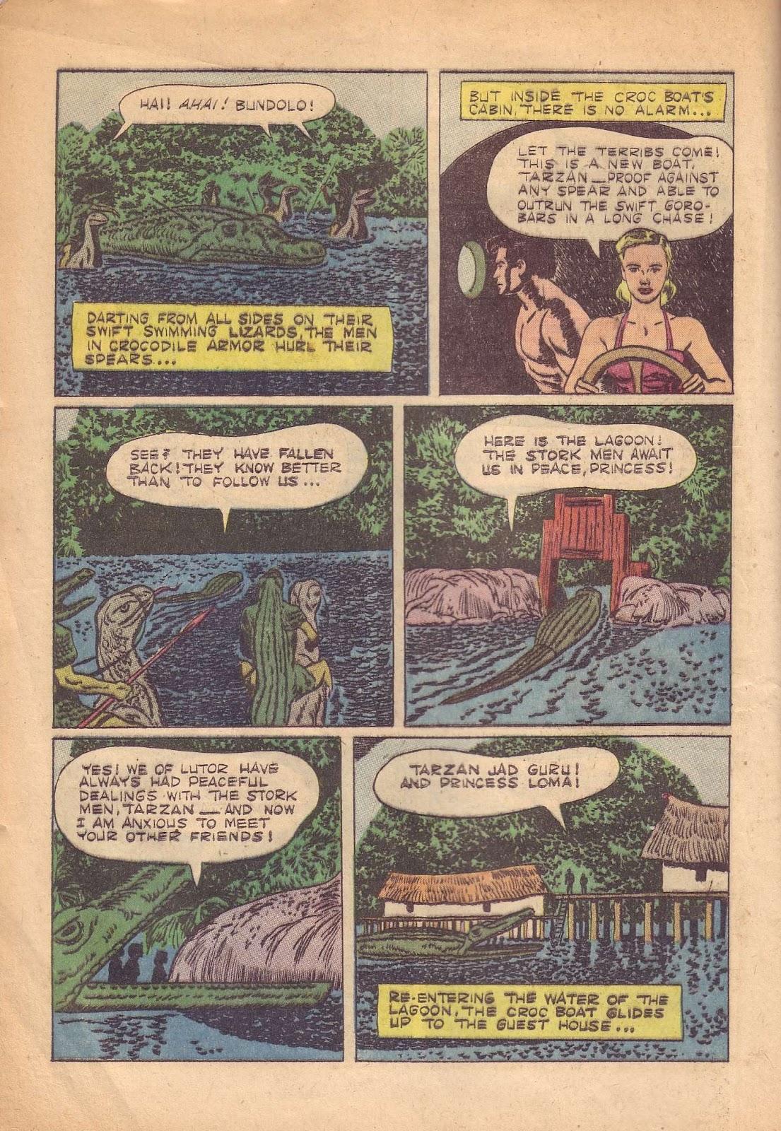 Tarzan (1948) issue 50 - Page 16
