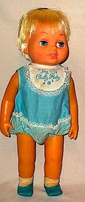 Girls Toys Dolls Tiny Chatty Baby By Mattel Toys 1962