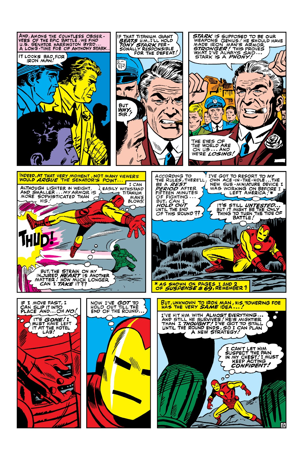 Read online Marvel Masterworks: The Invincible Iron Man comic -  Issue # TPB 3 (Part 2) - 3