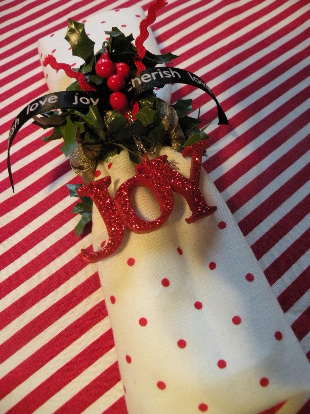 Christmas Gift Ideas Christmas Holiday Napkin Rings