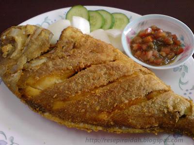 Resepi Raidah: Ikan Goreng Tepung