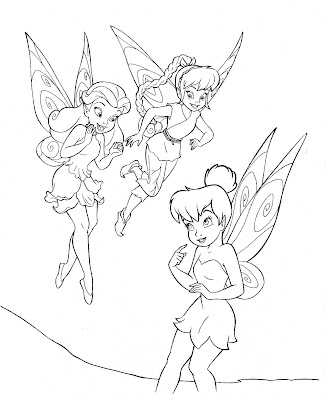 pictures of tinkerbell and friends
