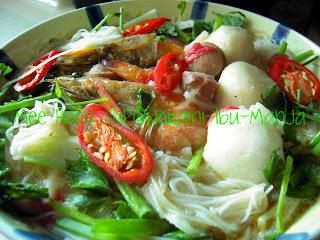 Sajian Bersama Ibu Manja: Mee Hoon Sup