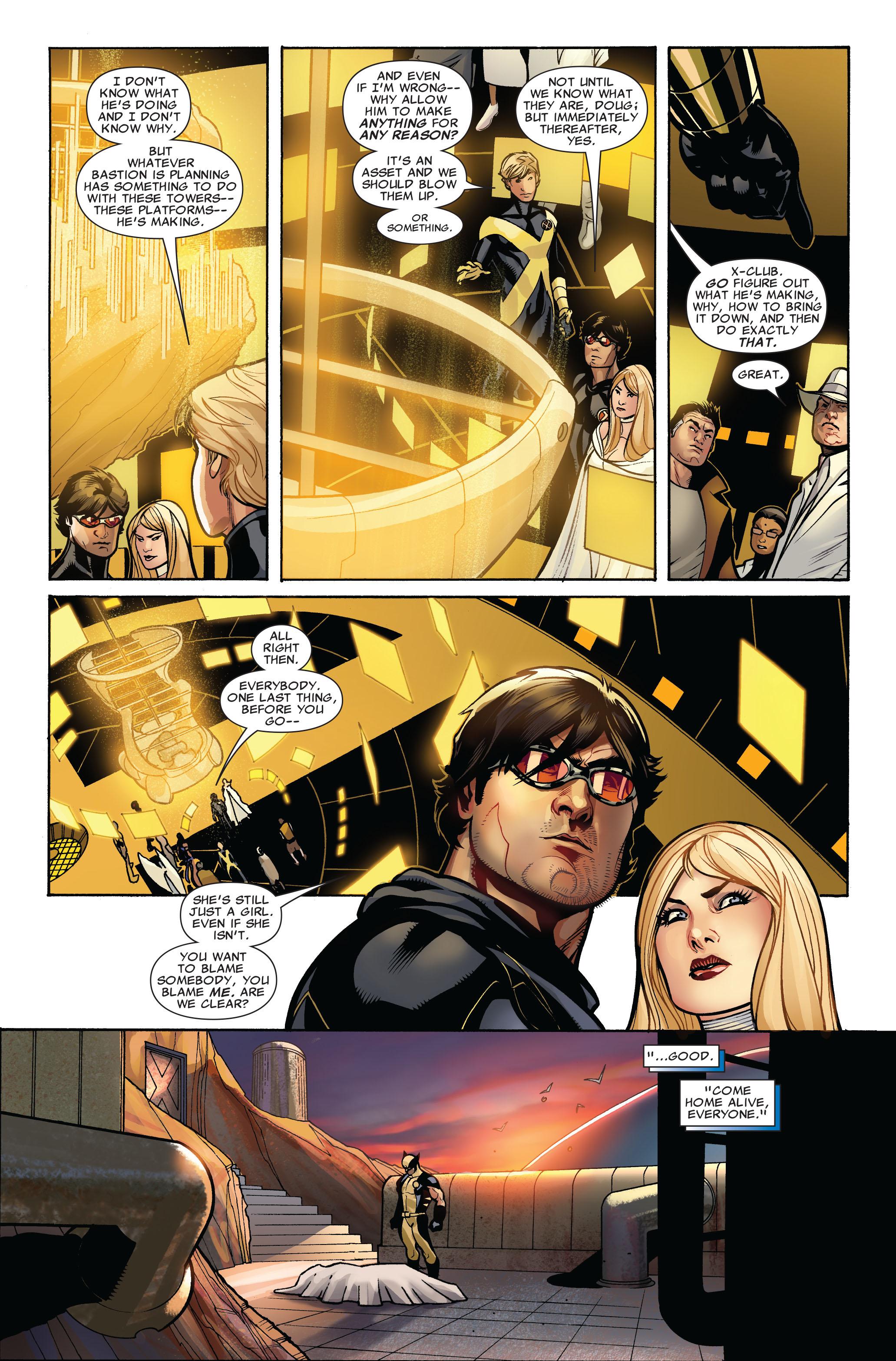 Read online Uncanny X-Men (1963) comic -  Issue #524 - 14
