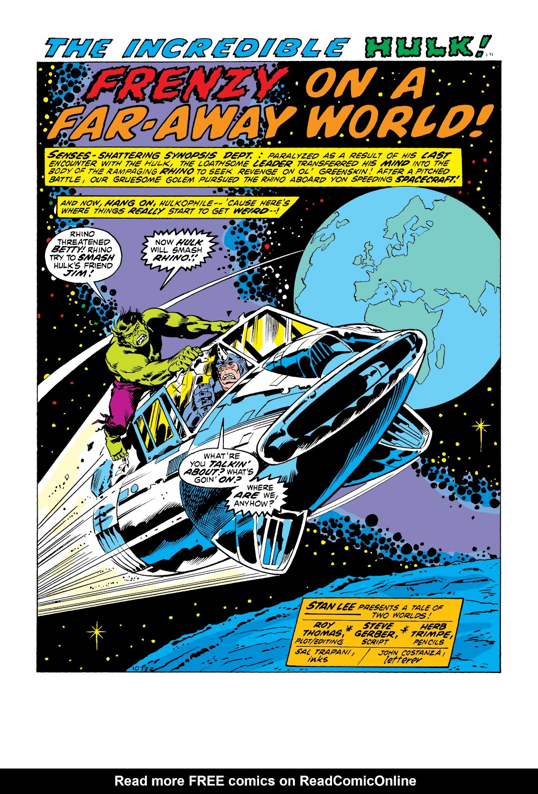 Read online Marvel Masterworks: The Incredible Hulk comic -  Issue # TPB 9 (Part 1) - 31