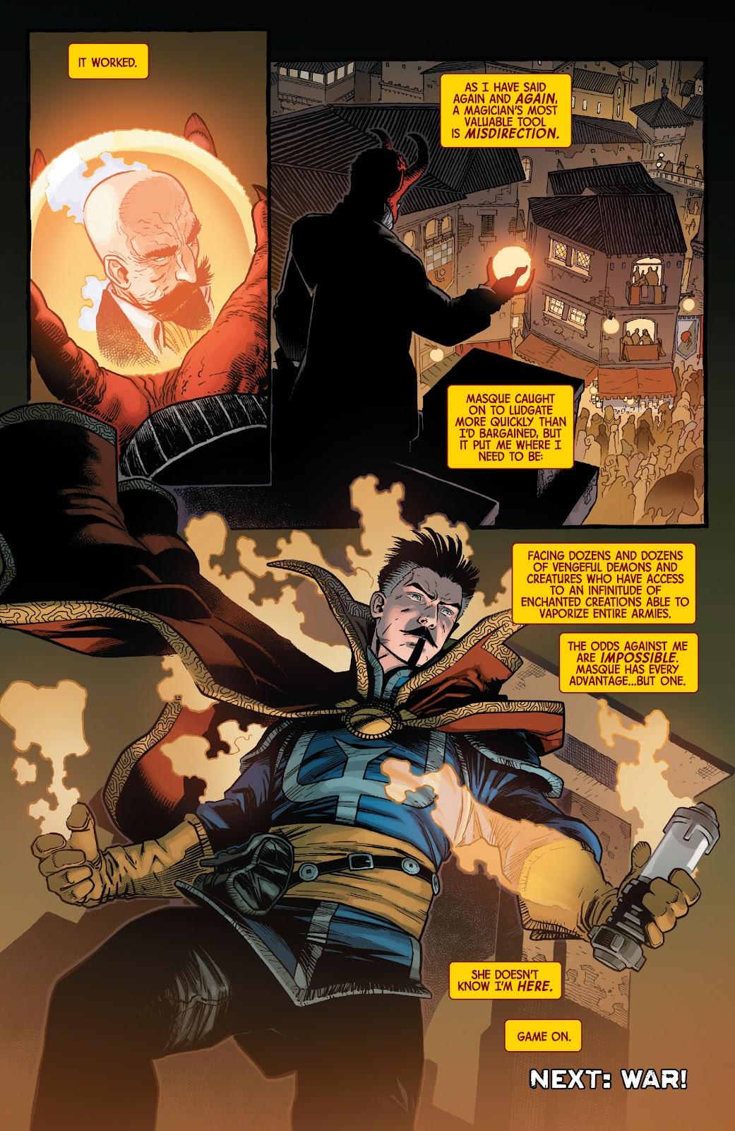 Read online Dr. Strange comic -  Issue #5 - 21