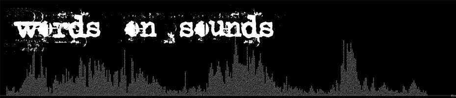 Words on Sounds
