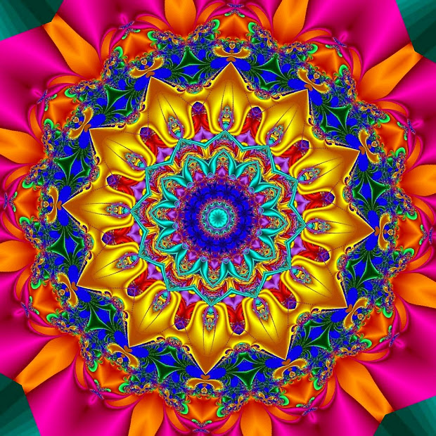 Margy' Musings Art Design - Flowers Fractals