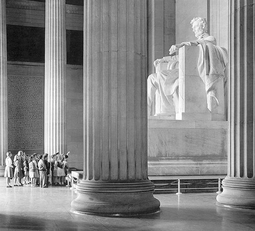 Visiting the Lincoln Memorial in Washington, DC