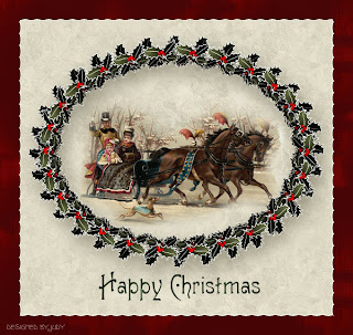 Christmas Sleigh Ride Card