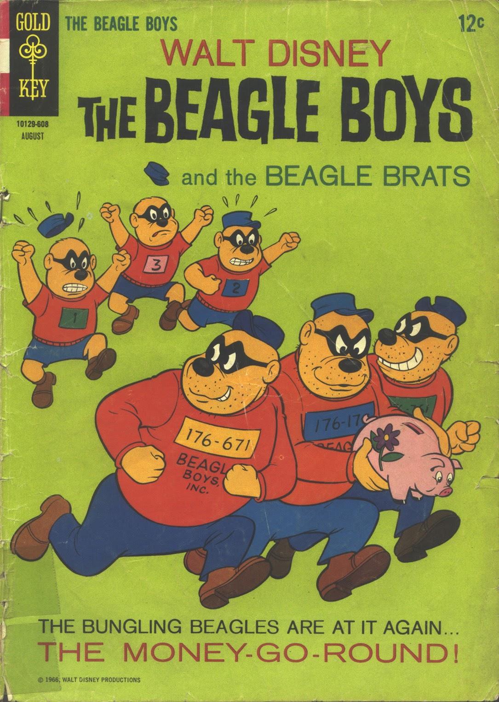 Walt Disney THE BEAGLE BOYS issue 3 - Page 1