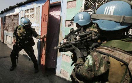 Exército brasileiro não tira  UPP  do Haiti antes de 2016  89f6678d877