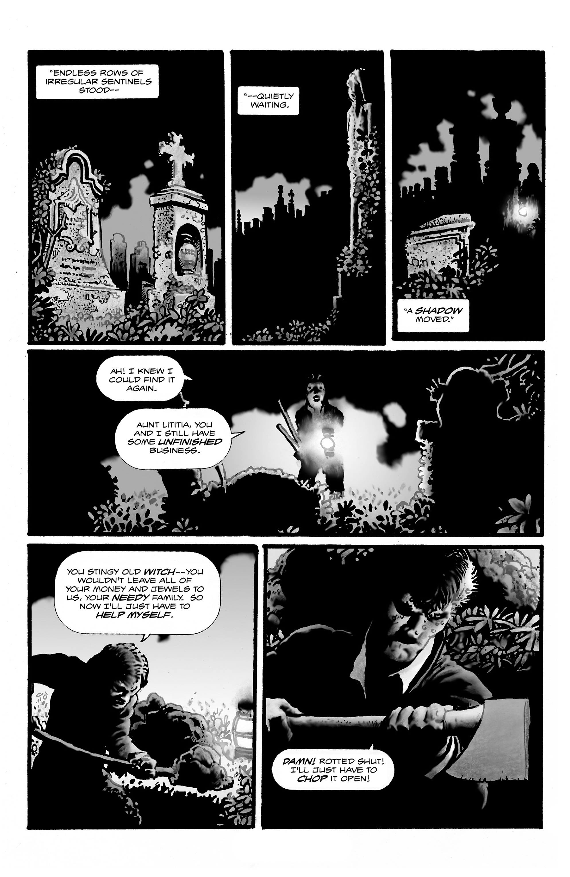 Read online Shadows on the Grave comic -  Issue #2 - 25