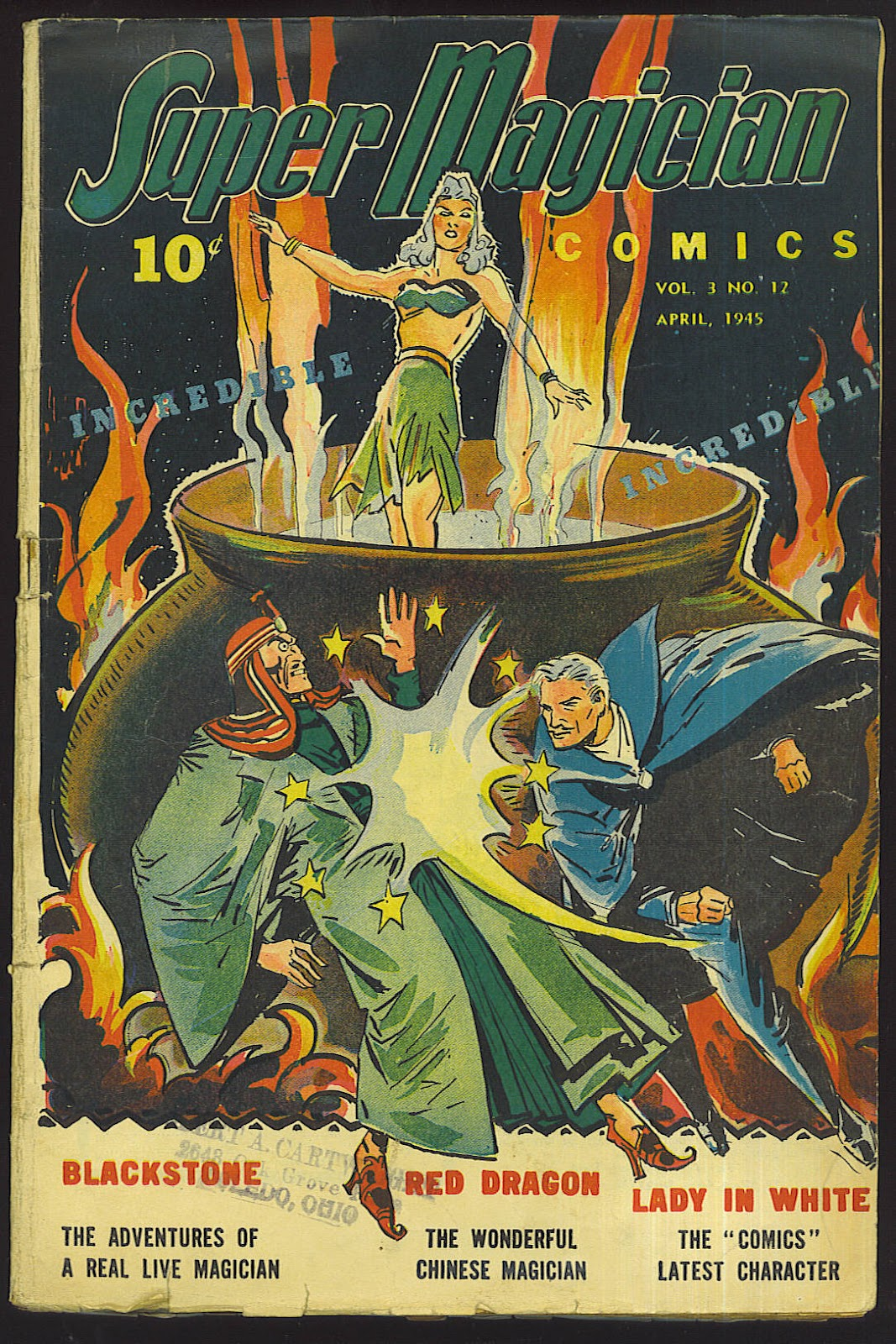 Read online Super-Magician Comics comic -  Issue #36 - 1