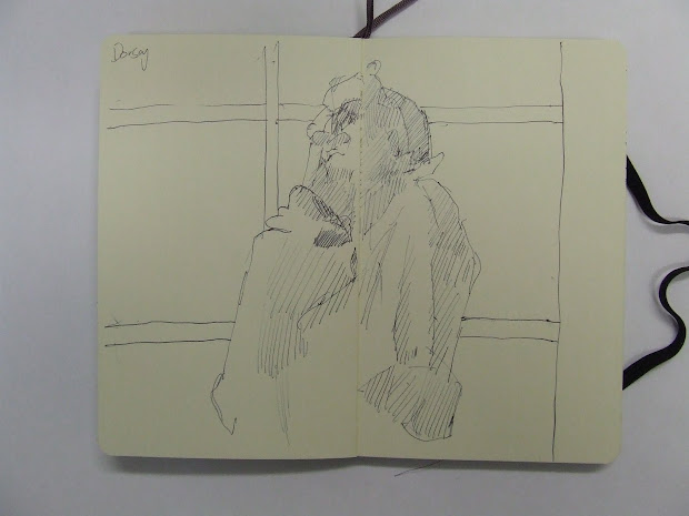 Three Days In Paris Drawing Louvre 'orsay