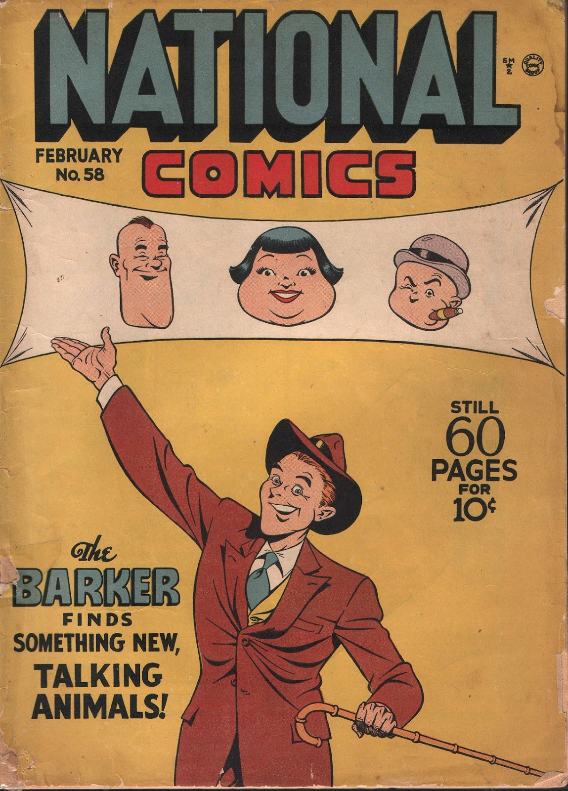 National Comics (1940) issue 58 - Page 1