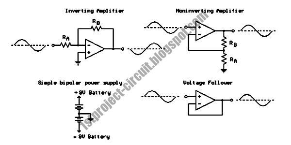 inverter circuit op amp inverting op amp circuit