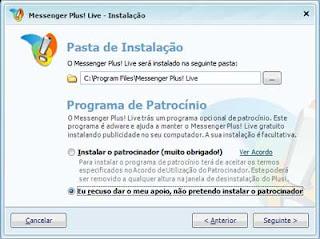 MSN BAIXAR MESSENGER PLUS 3.63.148 O PARA