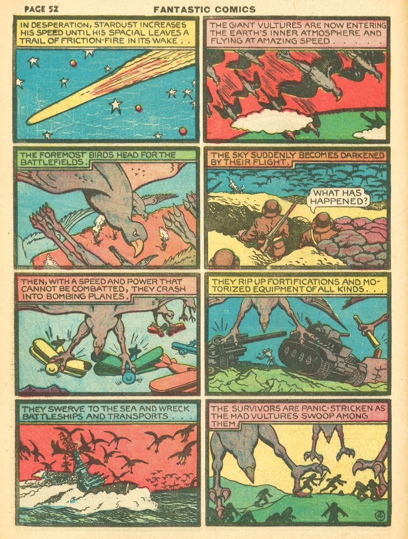 Read online Fantastic Comics comic -  Issue #12 - 54