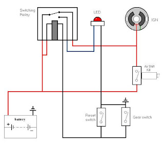 latching relay circuit. Black Bedroom Furniture Sets. Home Design Ideas
