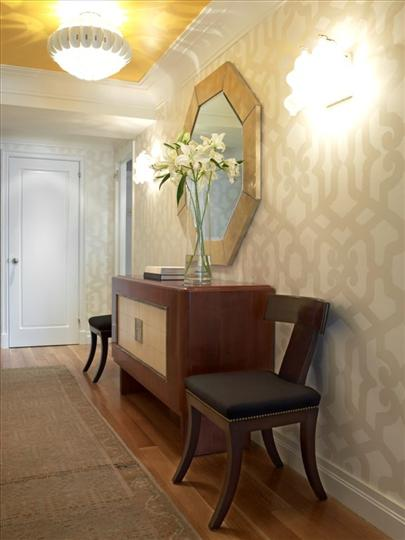 Designing Home: January 2011 - Hallway Wallpaper Ideas
