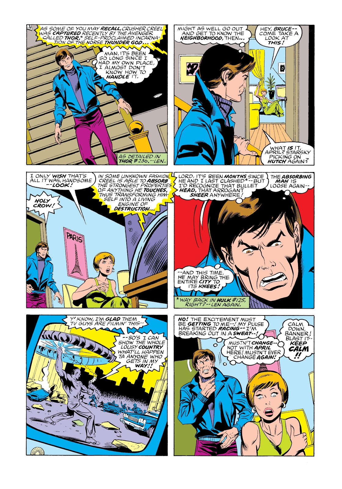 Read online Marvel Masterworks: The Incredible Hulk comic -  Issue # TPB 12 (Part 3) - 61