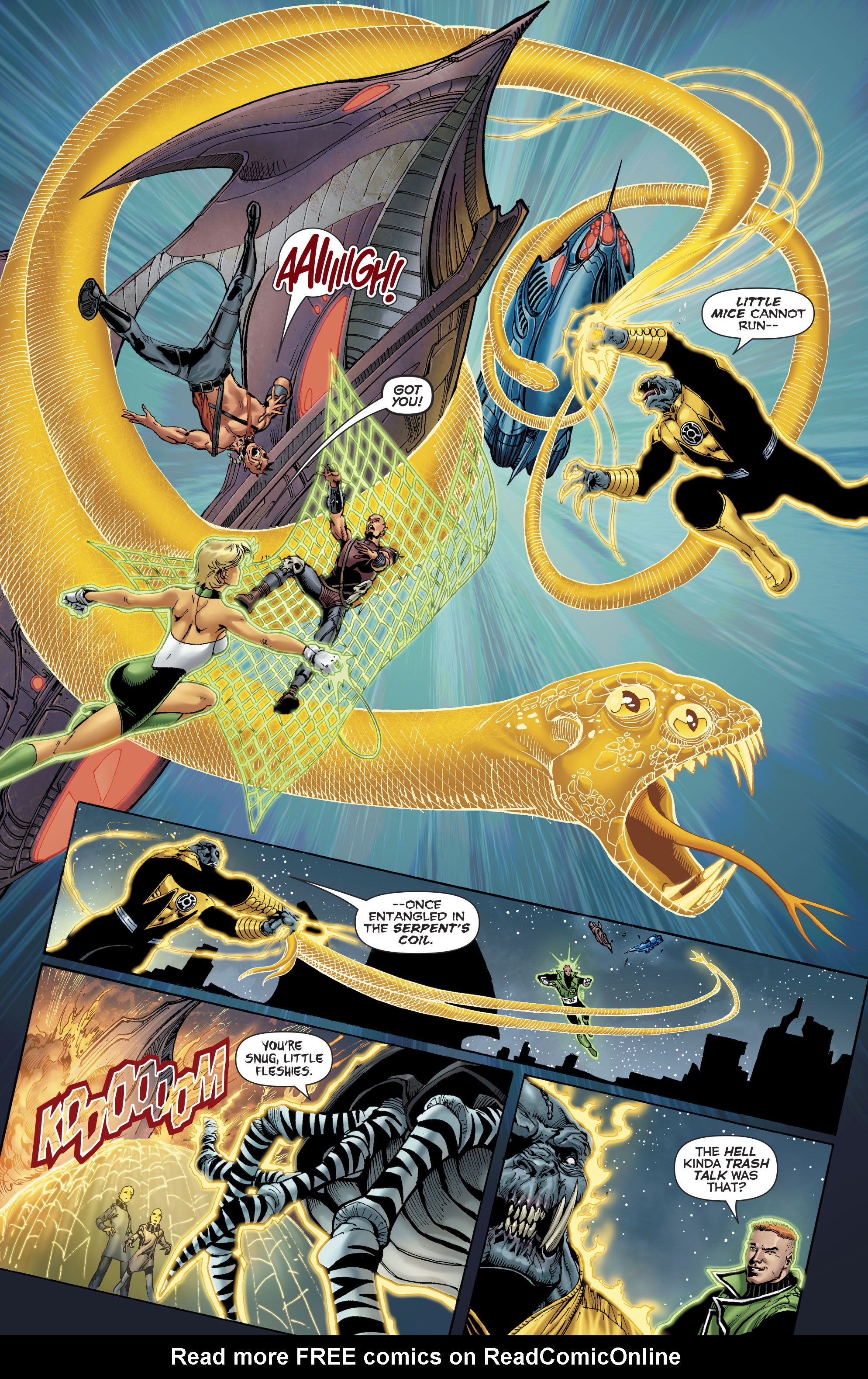 Read online Hal Jordan And The Green Lantern Corps comic -  Issue #22 - 13