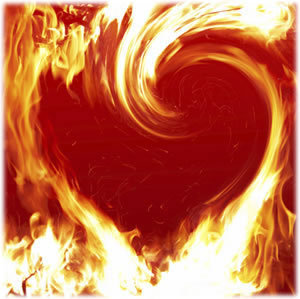 FLAMES SEVEN SACRED THE