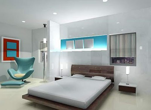 Simple Apartment Bedrooms - Home Decorating Ideas