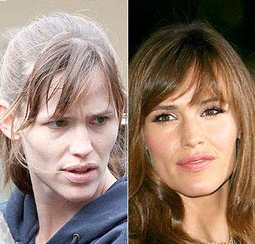 Celebrities+Without+Wearing+Makeup+jennifer+garner