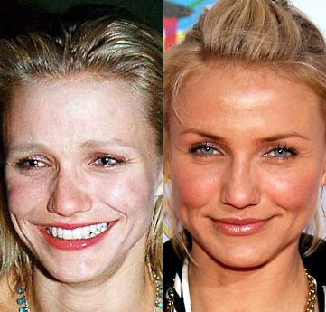Celebrities+Without+Wearing+Makeup+cameron+diaz